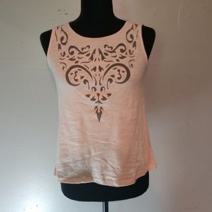 Forever 21 light pink tank top size Small